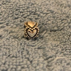 Sterling Silver Heart Bead